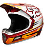 Fox Rampage Comp Reno - Mountainbikehelm Integral, White/Red