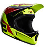 Fox Casco downhill Rampage Mako Helmet, Mako Yellow