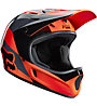 Fox Casco downhill Rampage Mako Helmet, Mako Orange