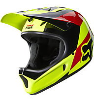 Fox Casco downhill Rampage Mako Helmet, Mako Yellow