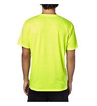 Fox Tournament Tech Tee MTB-Shirt, Flo Yellow