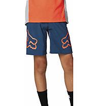 Fox Defend - pantaloncino - bambino, Blue/Orange