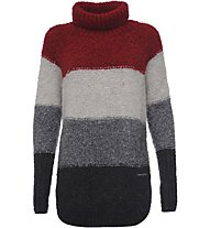 Freddy Academy Strickpullover Damen, Red/White/Grey