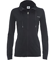 Freddy Active Basic - Kapuzenjacke Fitness - Damen, Black