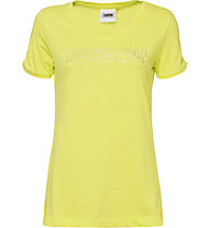 Freddy Active Base - Fitness T-Shirt - Damen, Yellow