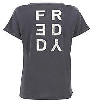 Freddy Apparel - t-shirt fitness - donna, Dark Grey
