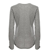 Freddy Basic- Fitness-Shirt Langarm - Damen, Grey