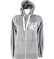 Freddy Brushed Fleece Light Hoody donna, Light Grey