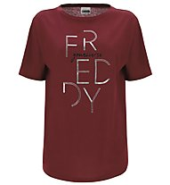 Freddy Choose Your Look - T-Shirt - Damen, Dark Red
