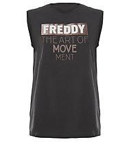 Freddy College Deluxe - Trägershirt Fitness - Damen, Grey