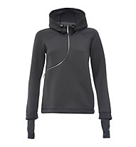 Freddy Zip Curva Kapuzen-Sweatshirt Damen, Grey