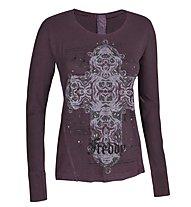 Freddy F4WAD13 Shirt Damen, Purple