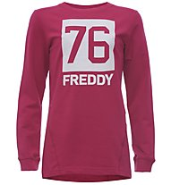 Freddy Graphics - Fitness-Shirt Langarm - Mädchen, Pink