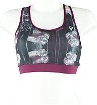 Freddy Heavy Jersey Plus DIWO reggiseno sportivo, Pink/Black/White