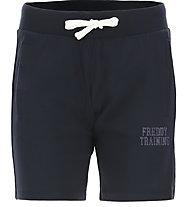 Freddy Jersey Stretch - pantaloni corti fitness - donna, Blue