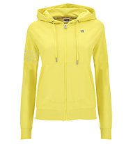 Freddy Light French Terry - giacca sportiva con zip - donna, Yellow