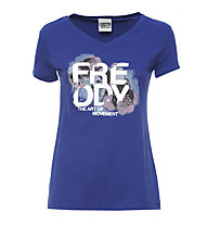 Freddy Light Jersey T-Shirt Damen, Navy