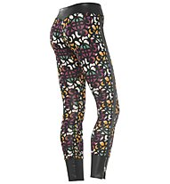 Freddy Superfit DIWO All Over Pant Damen, Black/All Over Print