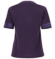 Freddy Polka Dot Comfort Fit Training - T-shirt - Damen, Violet