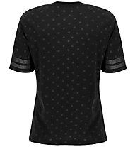 Freddy Polka Dot Comfort Fit Training - T-shirt - Damen, Black