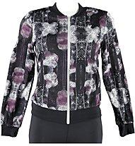 Freddy Pure Tech giacca donna, Black/White/Prune