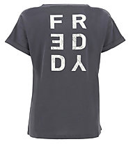 Freddy Apparel - t-shirt fitness - donna, Dark Grey
