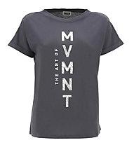 Freddy Shirt Apparel - t-shirt fitness - donna, Dark Grey