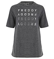 Freddy Woman - T-Shirt - Damen, Grey
