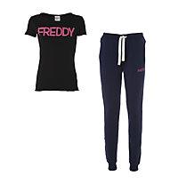 Freddy Soults Komplet Shirt + Hose Damen, Navy/Anthracite