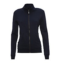 Freddy Zip Sweat Fitness Jacke Damen, Dark Blue