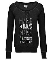 Freddy Sweatshirt W - Pullover - Damen, Black