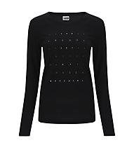 Freddy LS Light Jersey - maglia a maniche lunghe - donna, Black