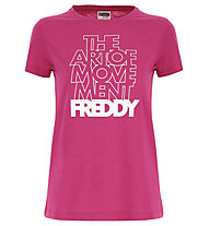 Freddy The Art of Movement Shirt - T-shirt fitness - donna, Pink