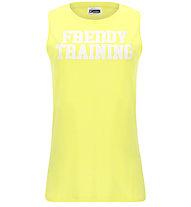 Freddy Top Light Jersey - Trägershirt - Damen, Yellow