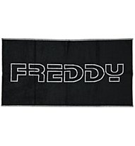 Freddy Towel Core Taom Active Asciugamano Fitness, Black/Grey