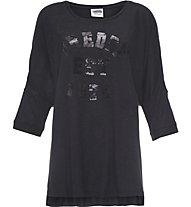 Freddy Training College T-Shirt Damen, Black