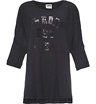 Freddy Training College T-Shirt fitness donna, Black