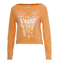 Freddy Training Color Sweatshirt Damen, Orange