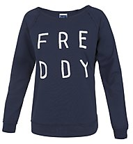 Freddy Training Color Sweatshirt Damen, Navy