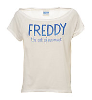 Freddy Training Color T-Shirt Damen, White