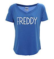 Freddy Training Color T-Shirt Damen, Navy