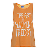 Freddy Training Color Tank Top Damen, Orange