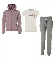 Freddy TUTA + TSHIRT, Grey Melange/Rose
