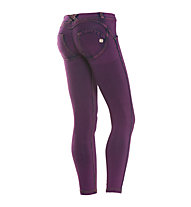 Freddy Wr.Up Panta Attack pantaloni donna 7/8, Purple/Fuchsia