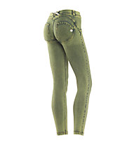 Freddy Wr.Up Panta Attack pantaloni donna 7/8, Light Green