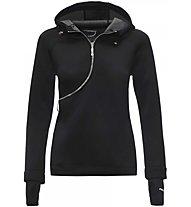 Freddy Zip Curva - Trainingspullover mit Reißverschluss - Damen, Black