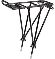 Fuxon Carrier with spring clamps, Black