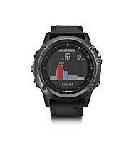 Garmin Fenix 3 HR Sapphire - GPS Uhr, Black