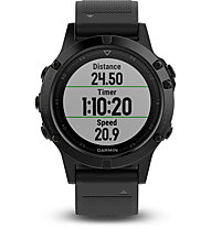 Garmin Fenix 5 Sapphire - Multisport-GPS-Uhr, Black/Black