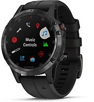 Garmin Fenix 5+ Sapphire - GPS-Multisport Smartwatch, Black